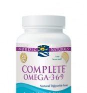 Complete Formula (Omega 3-6-9) - Lemon - 60 capsules