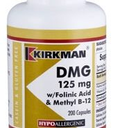 DMG with Folinic Acid & B-12 - Hypoallergenic - 200 capsules
