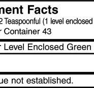 Glycine - 100 gram jar - INGREDIENTS