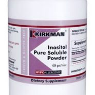 Inositol Pure Soluble Powder - Hypoallergenic - 454 grams - 16oz