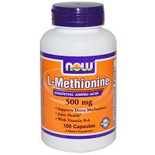L-Methionine (500mg) - 100 capsules
