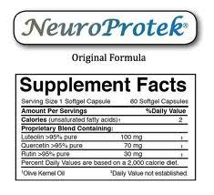 NeuroProtek® - 60 softgels - INGREDIENTS