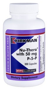 Nu-Thera® with 50 mg P-5-P - Hypoallergenic - 300 capsules