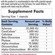 Phenol Assist - 90 capsules - INGREDIENTS