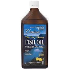 Very Finest Fish Oil Lemon Flavor - 500ml