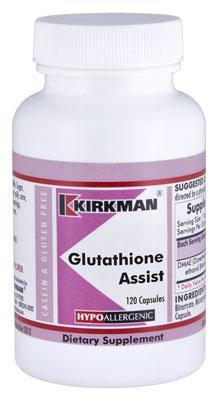 Glutathione Assist Hypoallergenic - 120 capsules