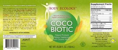 CocoBiotic - 750ml - INGREDIENTS