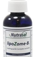 LipoZome B Complex Sublingual Liposome Spray - 2oz