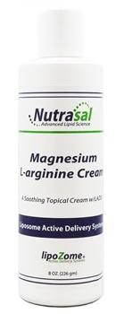 Liposomal Magnesium & L-Arginine Cream - 8oz