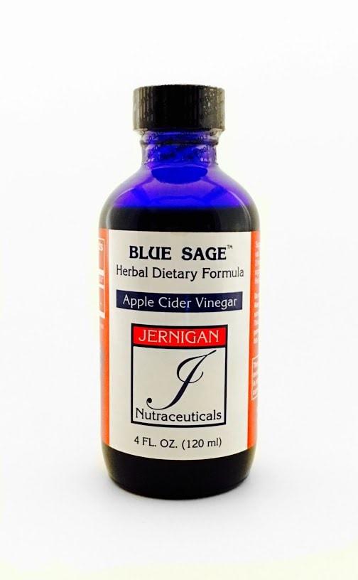 Blue Sage with Apple Cider Vinegar - (4 fl. oz. bottle)