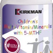 Children's Multi-Vitamin/Mineral w/5-MTHF - 120 capsules