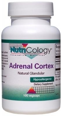 Adrenal Cortex Extract (100mg) - 100 capsules