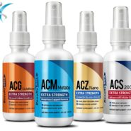 Ultimate Body Weight Loss System 4oz (ACZ Nano, ACG Glutathione, ACS200, ACM Metabo) - 4 bottle set