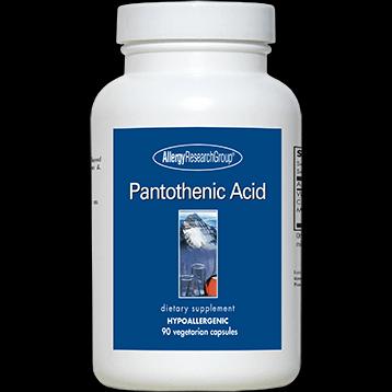 Pantothenic Acid (500mg) - 90 capsules