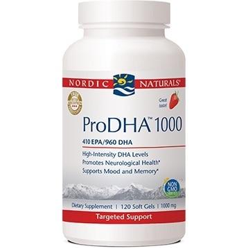 ProDHA 1000 Strawberry 120 soft gels